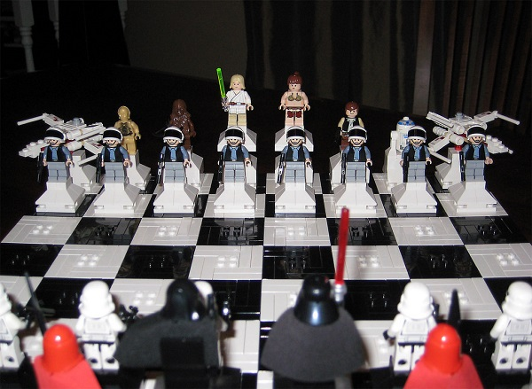 Star wars chess board and chess pieces review on amazon