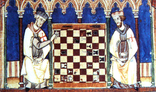history of chess, chess origin, templars chess